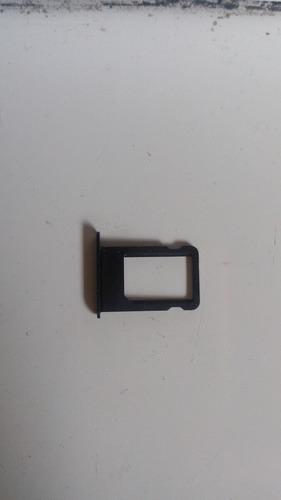 bandeja porta sim iphone 5/ 5s color space gray envio gratis