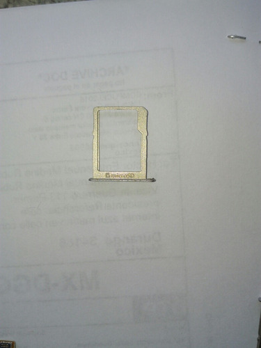 bandeja porta tarjeta microsd para samsung a5 a500m