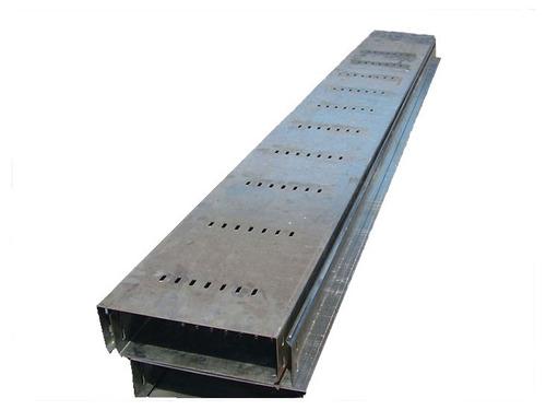 bandeja portacable perforada 200x100x2.4mts  plancha 1/20