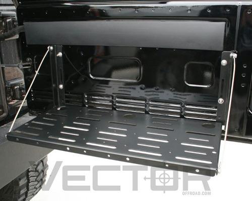 bandeja portaobjetos 4x4 puertatrasera cualquier modelo