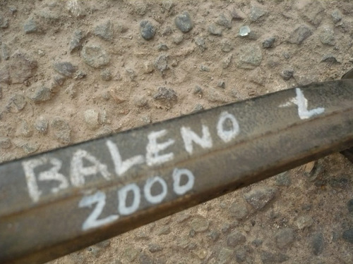 bandeja susp baleno 2000 del izq  - usada -  lea descripción
