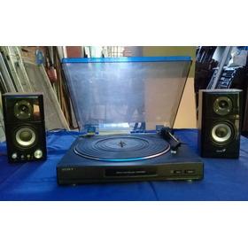 Bandeja Tocadiscos Sony + Pre Mag. Ver Video
