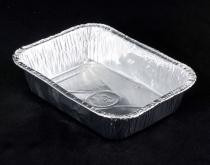 bandejas aluminio descartables b4 - canelonera x 50u c/tapa
