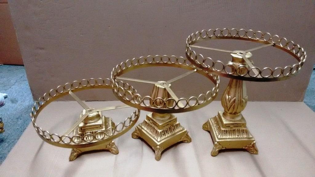 Bandejas arma o cristais com p s de resina r 306 00 em - Bandejas de cristal ...