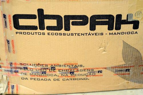bandejas biodegradaveis mandioca (145mm x 145mm)