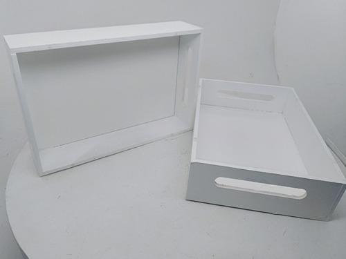 bandejas fibrofacil 6mm pintadas 20x30 cm ideal por 20