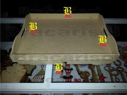bandejas fibrofacil desayuno figuras casitas laser figuras