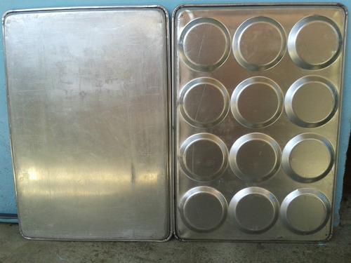 bandejas para panes de hambrguesas y bandejas lisas