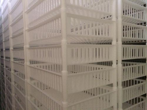bandejas plastica apilables ventiladas nuevas
