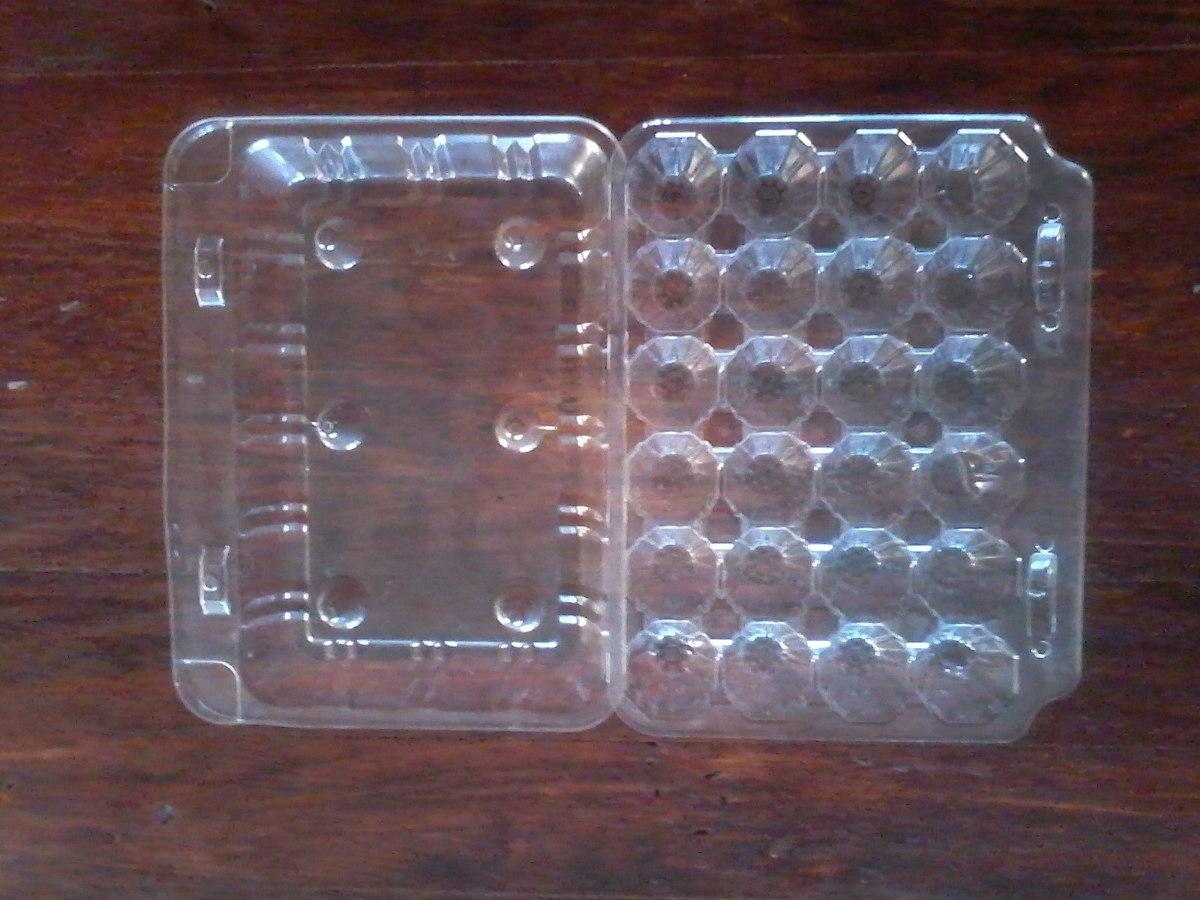 Bandejas plasticas para 24 huevos de codornices 150 en for Bandejas para huevos