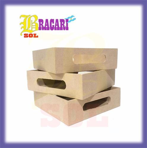 bandejas x6 desayuno figuras fibrofacil laser casitas barbie