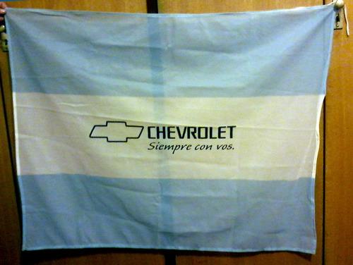 bandera argentina chevrolet