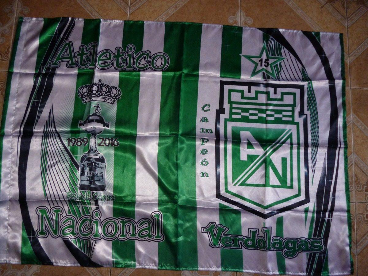 Bandera Atletico Nacional 25 000 En Mercado Libre