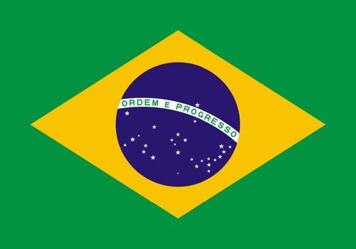 bandera brasil 90 cm x 150 cm excelente calidad