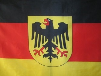 bandera de alemania con aguila (tamano 90x150cms) polyester