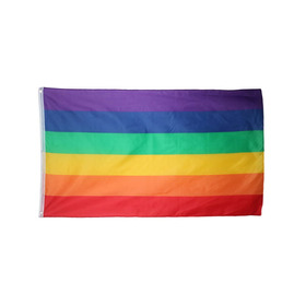Bandera De Arcoiris 150x90cm Orgullo Gay Comunid Lgbt Mf-50