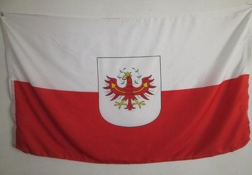 bandera de austria sur tirol (tamaño 90x150cm)doble faz poly