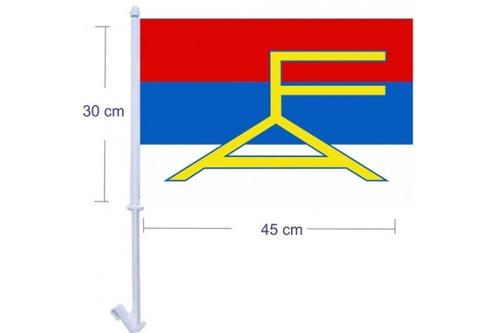 bandera de auto frente amplio