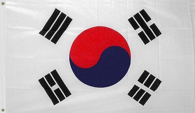 Bandera De Corea Del Sur 150 X 90cm. Tkd, Taekwondo