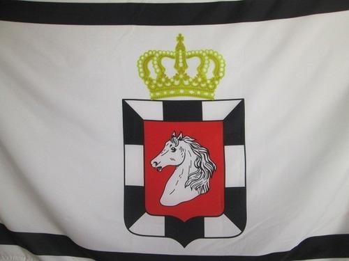 bandera de duchy of lauenburg (tamaño 90x150cm) doble faz po