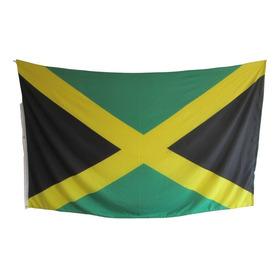 Bandera De Jamaica (tamaño 90x150cms) Material Polyester