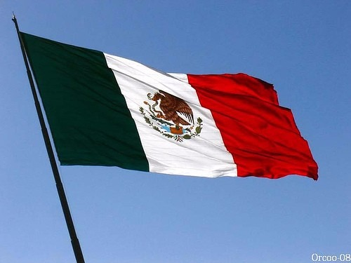 Bandera De Mexico , Bandera 16 De Septiembre