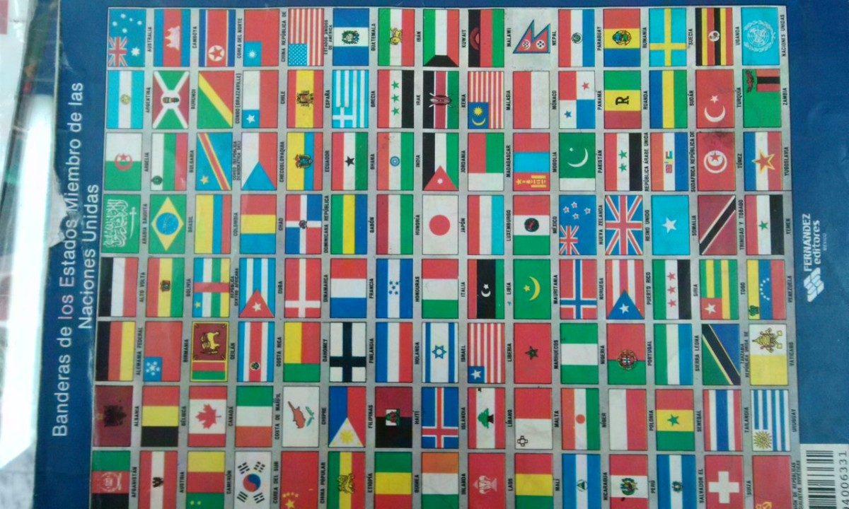 Bandera de mexico y del mundo varios paises mts - Baneras con cambiador para bebes ...