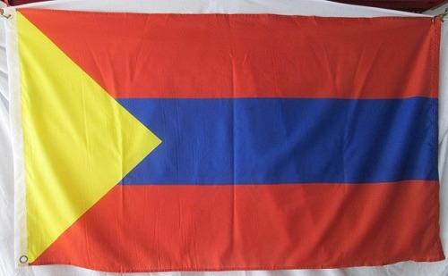 bandera de pasto nariño (tamaño 90x150cms) doble faz poly