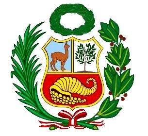 bandera de perú, peruvian flag - 115x65cm
