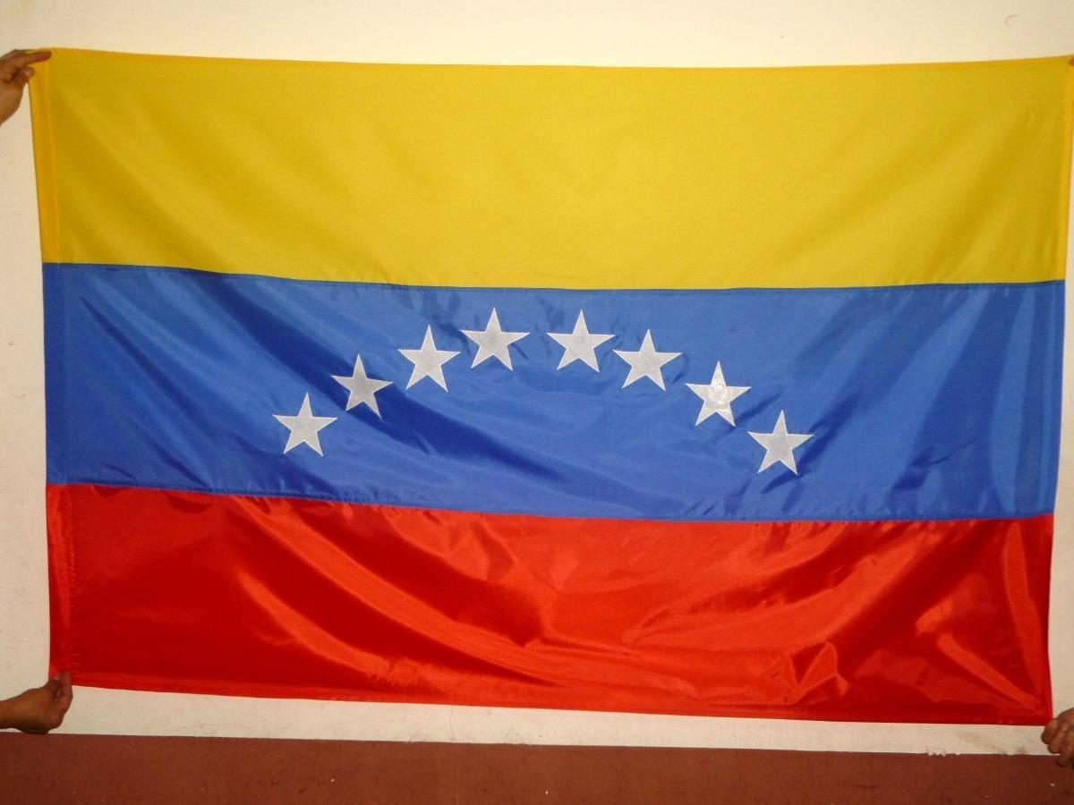 Venezuela 7 Estrellas Antigua 5ft X 0,9 M 150cm X 90cm Bandera