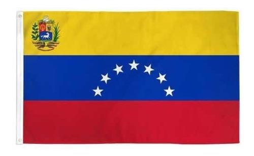 bandera de venezuela 150 cm x 90 cm  7 estrellas !
