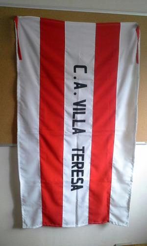bandera del club atlético villa teresa
