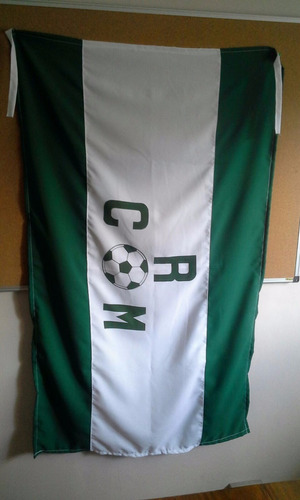 bandera del racing club del montevideo