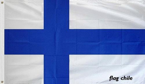 bandera finlandia excelente regalo 150cm x 90cm