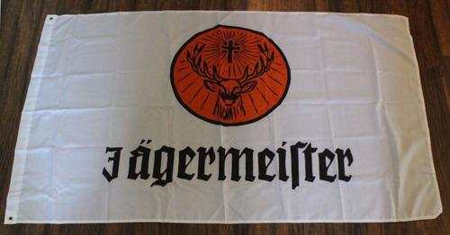 bandera jagermeister 150x90cm club licor hierbas e-887
