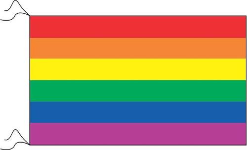 bandera lgbt orgullo gay arcoiris diversidad 100 x 180cm