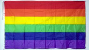 BANDERA GAY ARCO IRIS  70CM X 100CM HOMOSEXUAL
