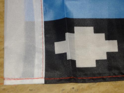bandera mapuche   150 x 90 cm.  / barbazar spa