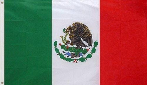 bandera méxico 150x90cm. latinoamerica y el mundo