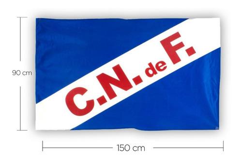 bandera nacional cndef tejida 150x90cm con ojales