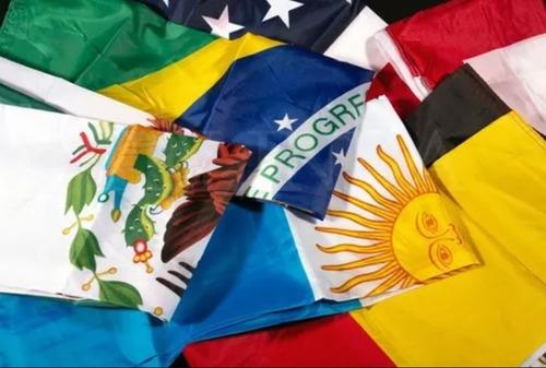 bandera nicaragua 1mtr x 1.5mtrs poliester estampado