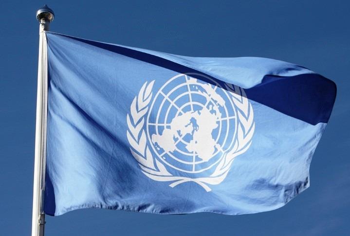 Bandera onu naciones unidas 150x90cm banderas del mundo - Tamano de baneras ...