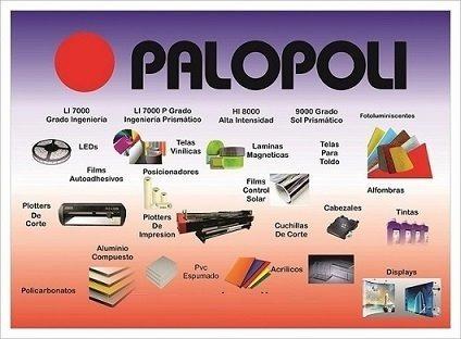 bandera poste exterior 5.20m punto de venta palopoli c/bolso