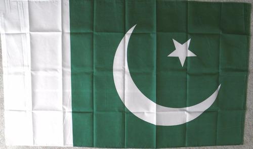bandera república islámica pakistán 150x90cm islamabad d-956