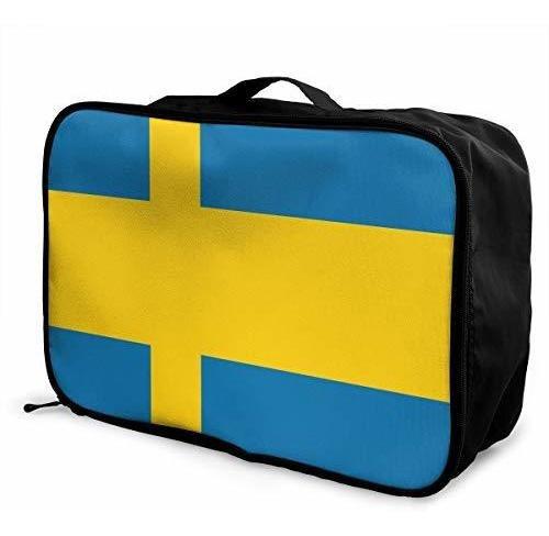 De Sueca Fin Equipaje Viaje Mano Bandera Bolsa n0OXNP8wkZ