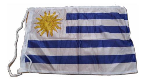 bandera uruguay 30x45 cm (no envios)