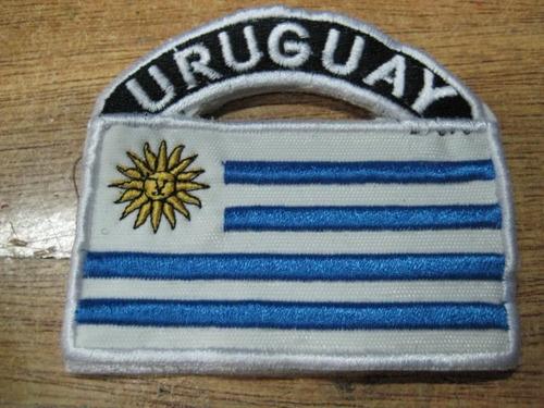 bandera uruguay   - parche bordado