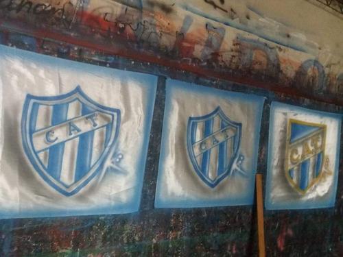 banderas de cancha personalizadas envios