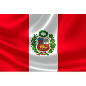 Banderas Del Peru Material Rasso