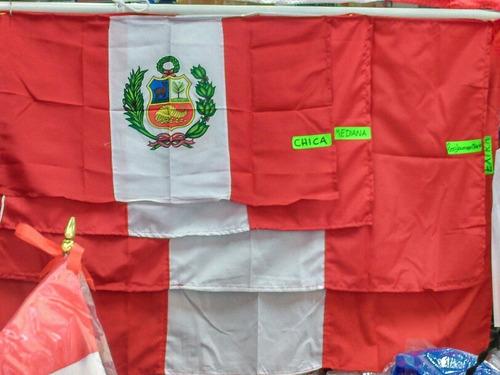 banderas del perú todo tipo de tamaño